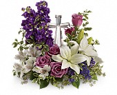 Crystal Cross Grace & Majesty Bouquet