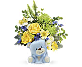 Joyful Blue Bear Bouquet